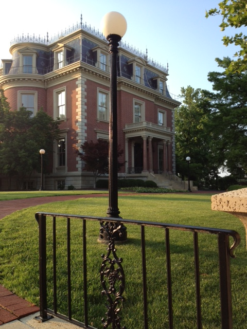 Missouri's governor's mansion, downtown Jefferson City