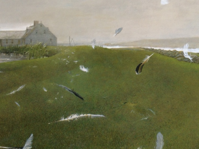 """Airborne"" by Andrew Wyeth"