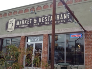 The new Five Points Market